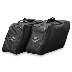 Designed to fit perfectly into #touring model fiberglass saddlebags. | Harley-Davidson Deluxe Saddlebag Liners