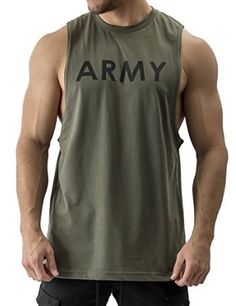 Trainingsshirt Gym Time Stringer Tank Top Muskelshirt Fitnessshirt