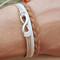 Infinity bracelet karma infinity bracelet for friends by mosnos, $7.99