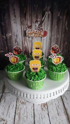 Clash Games provides latest Information and updates about clash of clans, coc updates, clash of phoenix, clash royale and many of your favorite Games 8th Birthday, Birthday Cake, Birthday Parties, Barbarian King, Chocolate, Royal Party, Halloween Cupcakes, Ideas Para Fiestas, Party Themes