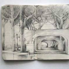 Sketchbook. Lars Henkel