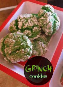 Sugar for Breakfast: Grinch Cookies