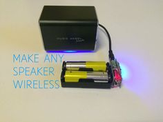 Make anu speaker wireless with a USB bluetooth receiver