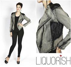Liquorish East End Rock Jacket, on sale now at: https://www.liquorishonline.com/liquorish-east-end-rock-jacket.html