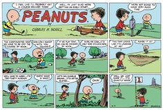 Peanuts Begins Comic Strip, June 12, 2016     on GoComics.com