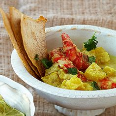Ananas-Garnelen-Curry