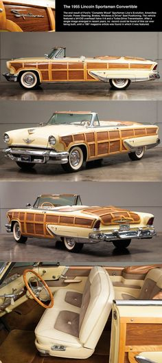 1955 Lincoln Capri Sportsman Convertible