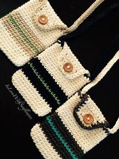 Items similar to Crochet Purse - Cross body bag - Cell phone purse - cross body purse - Cell phone holder - Teacher Gift - Gift for her - Under 15 Gift - on Etsy Crochet Coin Purse, Crochet Purse Patterns, Crochet Purses, Crochet Bags, Crochet Shell Stitch, Crochet Stitches, Crochet Phone Cover, Crochet Mobile, Crochet Cross