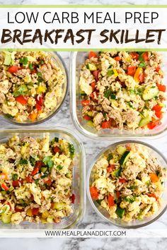 Lunch Meal Prep, Meal Prep Bowls, Easy Meal Prep, Healthy Meal Prep, Healthy Eating, Meal Prep For The Week Low Carb, Meal Prep Menu, Clean Eating, Dinner Meal