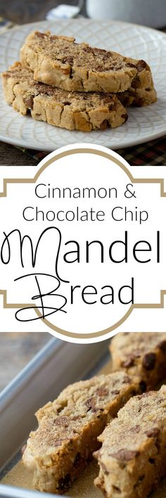 Cinnamon & Chocolate Chip Passover Mandel Bread – the perfect Passover dessert – so good you will want to eat it all year round!