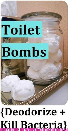 DIY Toilet Bombs that Deodorize And Kill Bacteria
