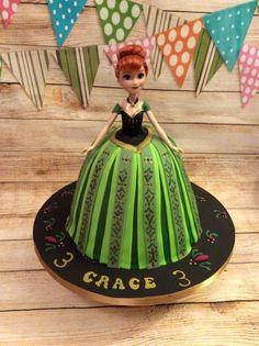 Coronation Anna Cake