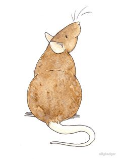 Izzy by sillybadger Hedgehog Book, Rat Tattoo, Logo Shapes, Cute Rats, Rodents, Children's Book Illustration, Mail Art, Cartoon Drawings, Painted Rocks
