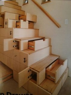 Great idea for stairs!