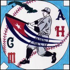 Cuba Béisbol~~the letters stand for the four baseball teams of old Cuba.  Almendares, Habana, Cienfuegos & Marianao.