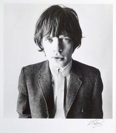 David Bailey, Mick Jagger @artsy