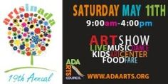 Cute, fun, and free arts festival for the whole family happening next weekend in West Michigan- Saturday May 11 in Ada. More details: http://www.adaarts.org/arts-in-ada-festival.html