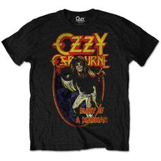Ozzy Osbourne Men's Tee: Diary of a mad man Wholesale Ref:OZZTS03MB