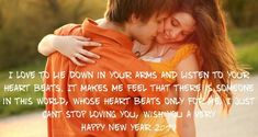 Romantic and Lovely Happy New Year 2018 Wishes for Girlfriend in Hindi and English, Get Beautiful New Year 2018 Shayari in Hindi. Happy New Year 2014, Happy New Year Wishes, New Year 2018, Happy Hug Day, Love Couple Wallpaper, Cant Stop Loving You, New Year Images, Love Problems, Couple Romance