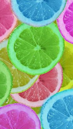 Colorful fruit #colorstory