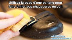 Une rumeur laisse entendre que le cuir est une matière difficile à entretenir. Faux ! Rien de plus simple pour faire briller vos chaussures. Découvrez l'astuce ici : http://www.comment-economiser.fr/entretenir-chaussures-cuir.html