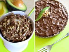 Chocolate Avo Pudding Two Ways! #LoveFed