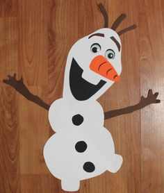 Olaf free download - Click on picture to access web site and then click on free downloads at the top. Olaf is at the bottom of the free download page. Left hand side. My kids LOVED making their Olaf... :)