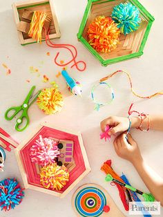 Indulge in a little nostalgia with these timeless summer projects that you can make with your child.