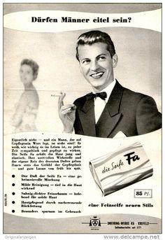 Original-Werbung/Inserat/ Anzeige 1955 - FA SEIFE - ca. 115 x 180 mm