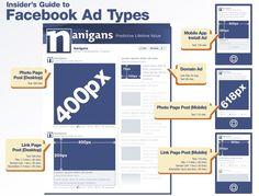 [Infographic] 알고 준비하자! 페이스북 광고 타입