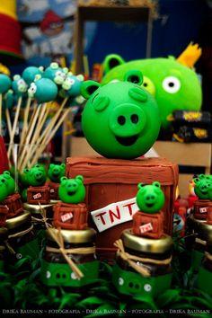 Encontrando Ideias: Festa Angry Birds!!!