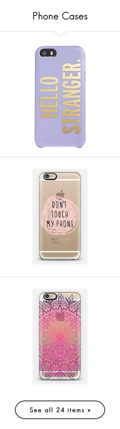 """Phone Cases"" by sadielynn211 ❤ liked on Polyvore"