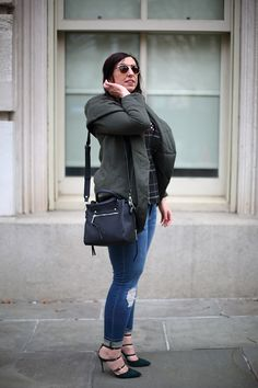 Seen on Effortlessly with Roxy :: Anthropologie Quilted Cozy Jacket, Club Monaco Meradyth Pumps.  See the full look on the site!