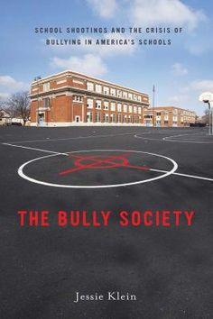 Bully Society by J. Klein - In today's schools, kids bullying kids is not an occasional occurrence but rather an everyday reality. The author proposes that the rise of school shootings across America, and childhood aggression more broadly, are the consequences of a society that actually promotes aggressive and competitive behavior. The Bully Society is a call to reclaim America's schools from the vicious cycle of aggression that threatens our children and our society at large.