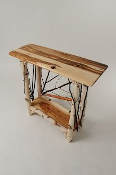 Bill Brown, Crow Wing Country Furniture -- rustic willow and birch furnishings