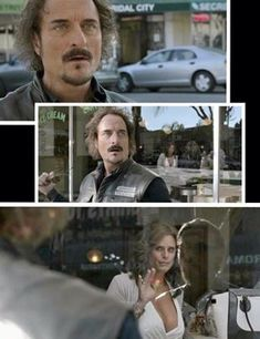 SOA sons of anarchy tig & Venus and this is why they couldn't kill Tig off! love him