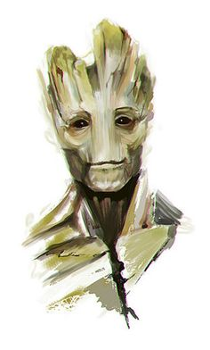 guardians of the glaxy fan art | Groot Fanart - guardians-of-the-galaxy Fan Art