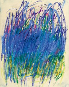 "pinkpagodastudio: Joan Mitchell--""My Paintings Have to do with Feelings"""