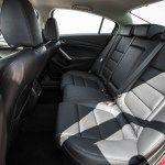 2016 Mazda 6 Sedan Car Back Seats