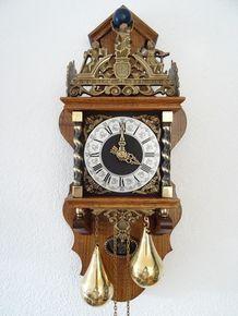 Dutch Zaandam Zaanse Atlas Pendulum Wall Clock Pendulum