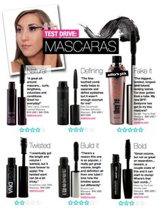 Beautezine | Test Drive: Mascaras