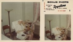 """Royaltone"" photograph, Warhol in bed, on the telephone, at Columbus Hospital, recovering from bullet wounds inflicted by Valerie Solanas, June, 1968    chromogenic color print    3 1/2 x 6 in. (8.9 x 15.2 cm.)    The Andy Warhol Museum, Pittsburgh; Founding Collection, Contribution The Andy Warhol Foundation for the Visual Arts, Inc.    © The Andy Warhol Foundation for the Visual Arts, Inc.    1998.3.14799"