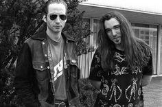 Stone Gossard and Dave Abbruzzese
