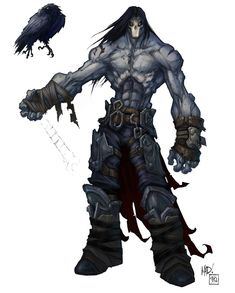Darksiders II – Character Art & Concept Artwork