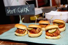 Chef Carla Hall's Dish at Chicken Coupe Hosted By Whoopi Goldberg 2015