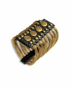Gold and Leather Arm Cuff ~ Chris? Hm. No. Someone in the past. Ooh. Hera maybe?