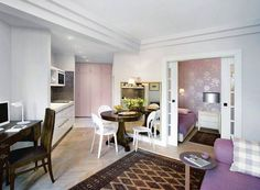 adelaparvu.com despre apartament mic de 2 camere pentru mama si fiica, Foto Hanna Dlugosz  (2)