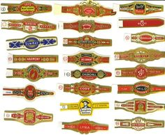 Vintage Cigar Bands