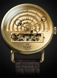 Xeric Halograph All Gold Automatic Watch