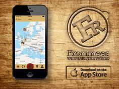 Frommees is now the proud owner of it's own app in the Appstore. So everybody with an Iphone can now start to explore our world on the go